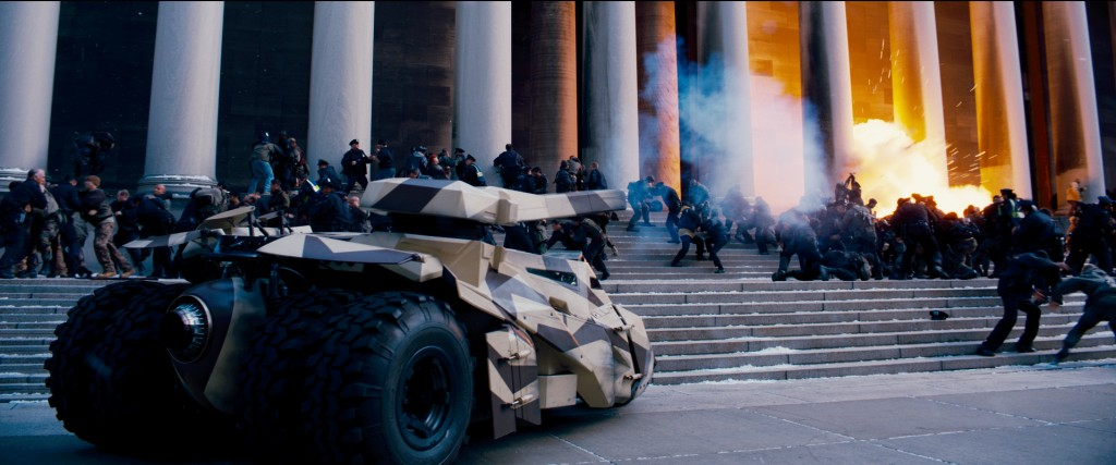 Batmobile in The Dark Knight Rises