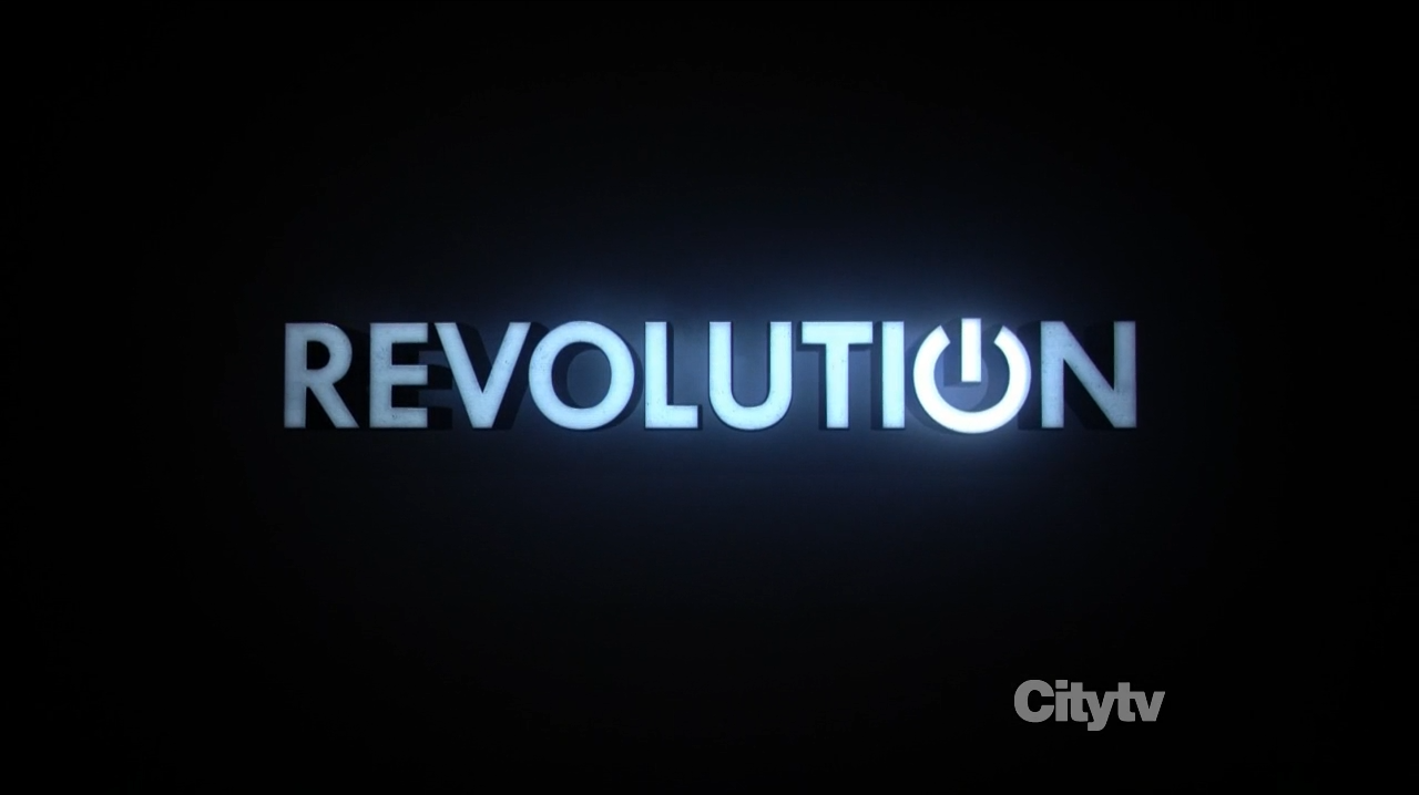 Revolution Logo - Bad Robot Scifi-series starring Billy Burke, Tracy Spiridakos and Elizabeth Mitchell