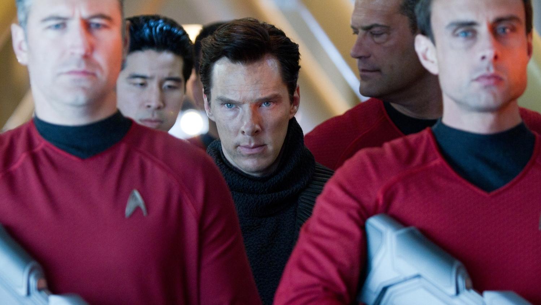 Benedict Cumberbatch as John Harrison in Star Trek Into Darkness