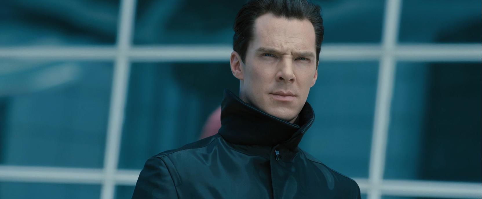 Benedict Cumberbatch as terrorist John Harrison - Star Trek Into Darkness