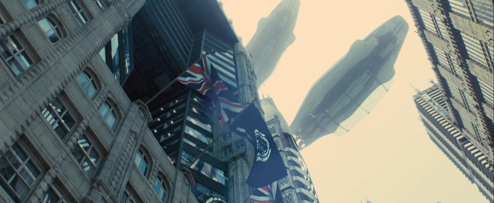 Future London in Star Trek Into Darkness