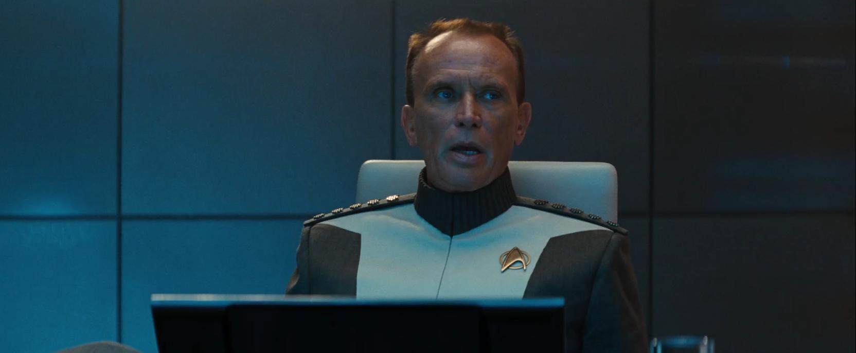 Peter Weller in Star Trek Into Darkness