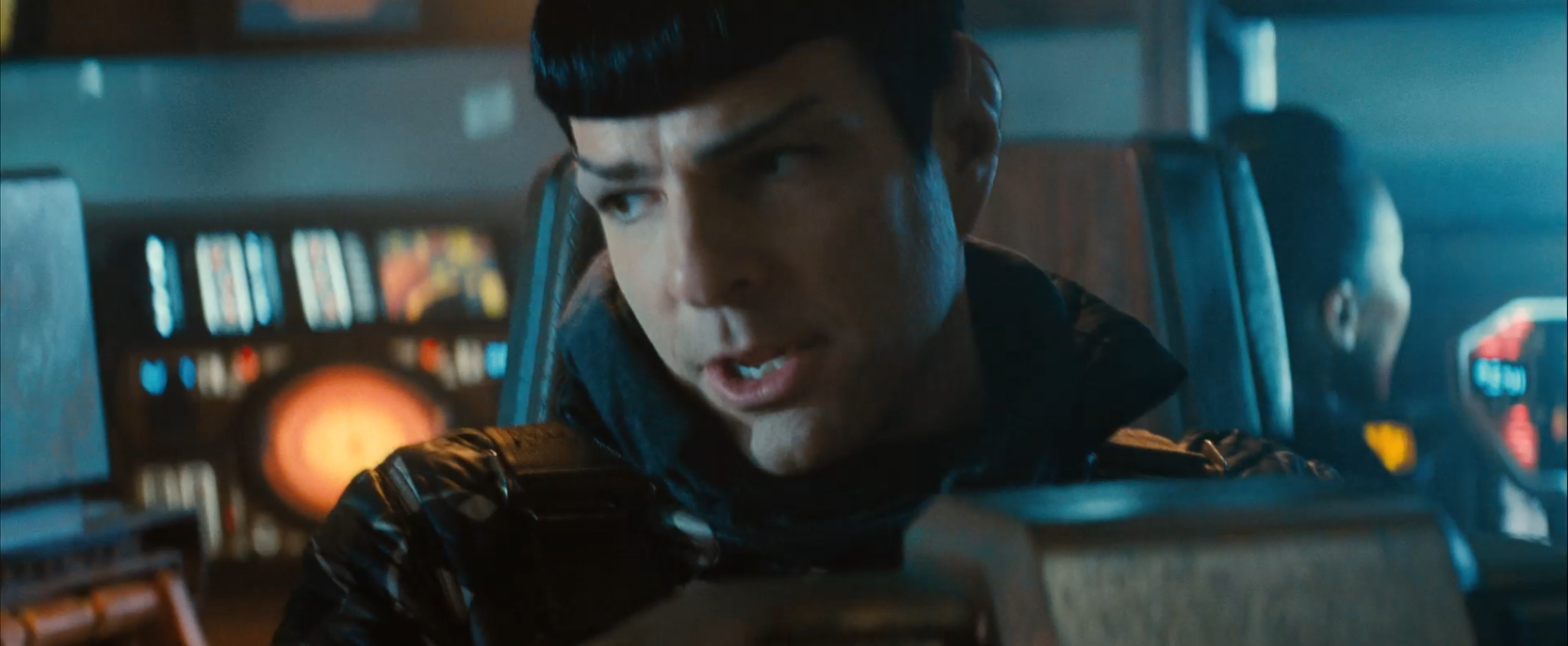 Zachary Quinto as Spock in Star Trek Into Darkness