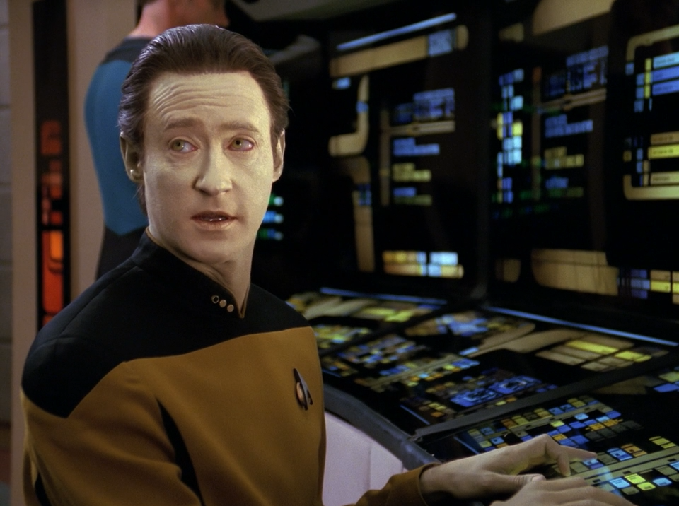 Brent Spiner as Data - Sins of the Father - Star Trek The Next Generation