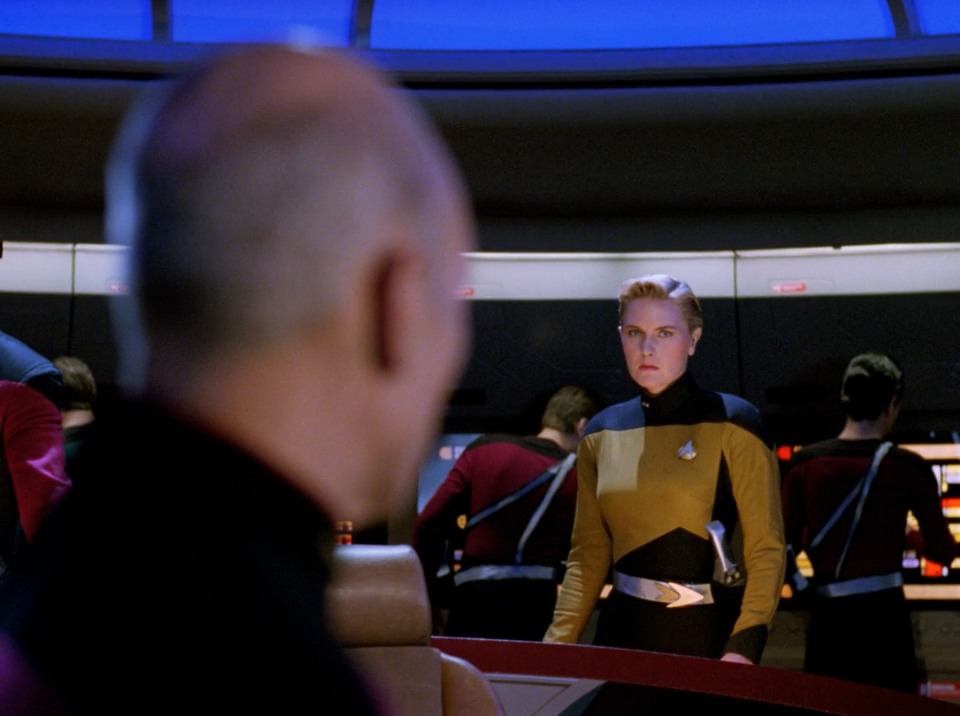 Denise Crosby as Tasha Yar - Yesterday's Enterprise - Star Trek The Next Generation