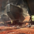 The exclusion zone as seen in Destiny - Artwork