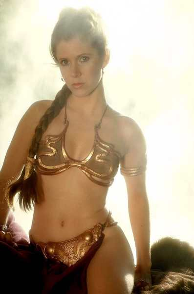 Slave Leia (Carrie Fisher)