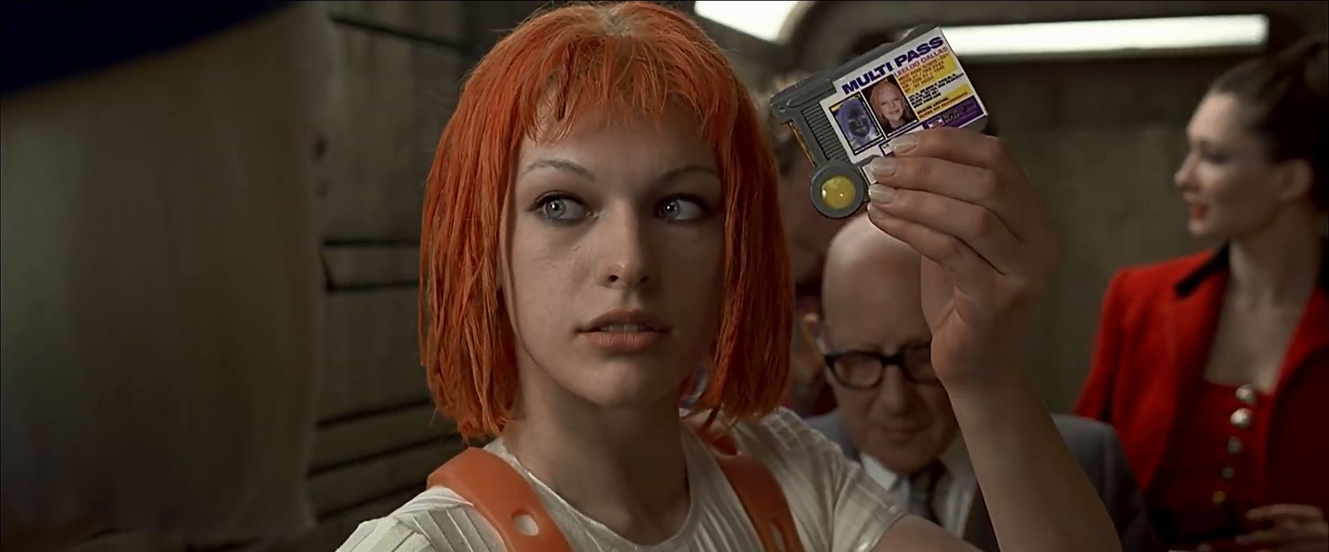 Leeloo Dallas Multipass - The Fifth Element