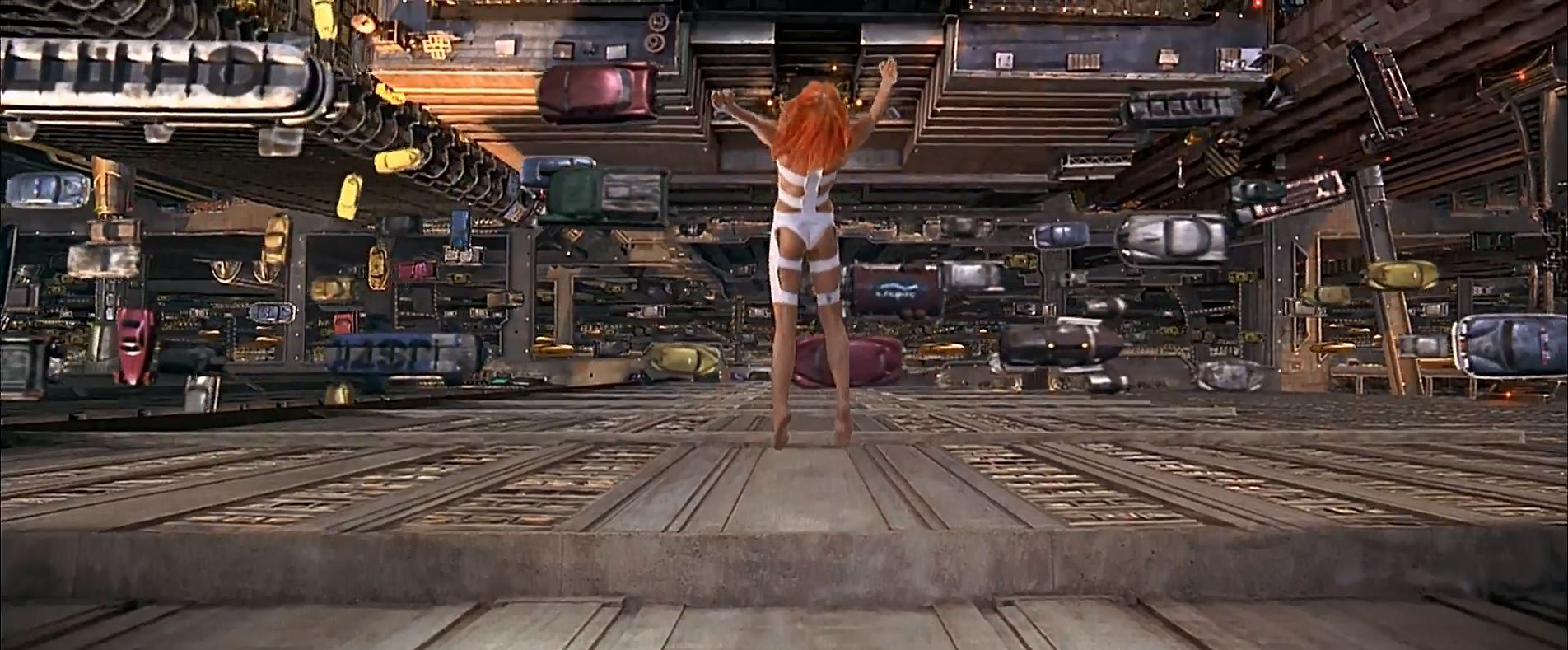 Leeloo jump - The Fifth Element