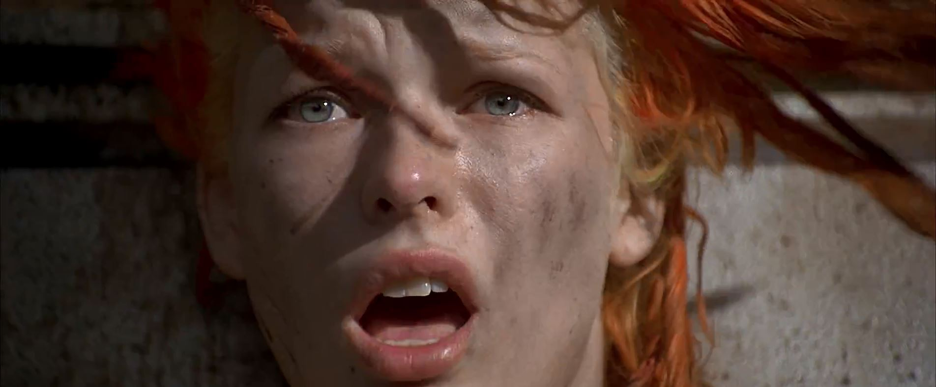 Leeloo's hair in the wind - The Fifth Element
