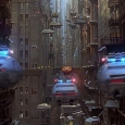 Police chasing Korben Dallas - The Fifth Element