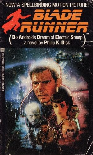Do Androids Dream of Electric Sheep cover - novel by Philip K. Dick