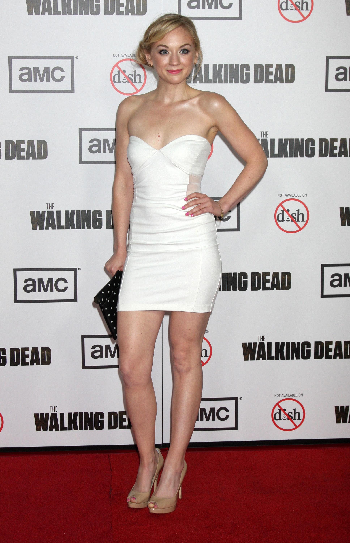 Emily Kinney hot - The Walking Dead