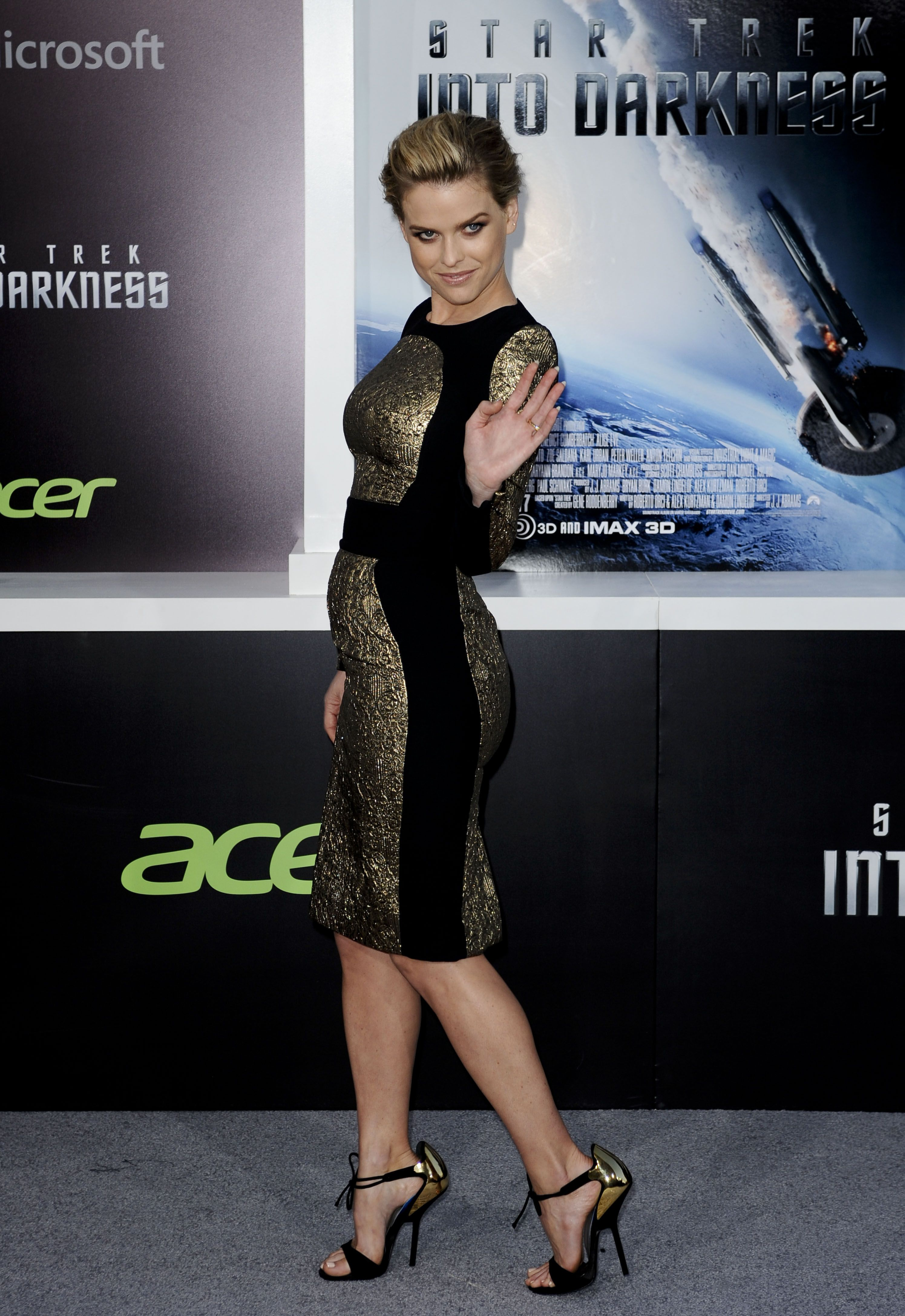 Star Trek into darkness alice eve at premiere