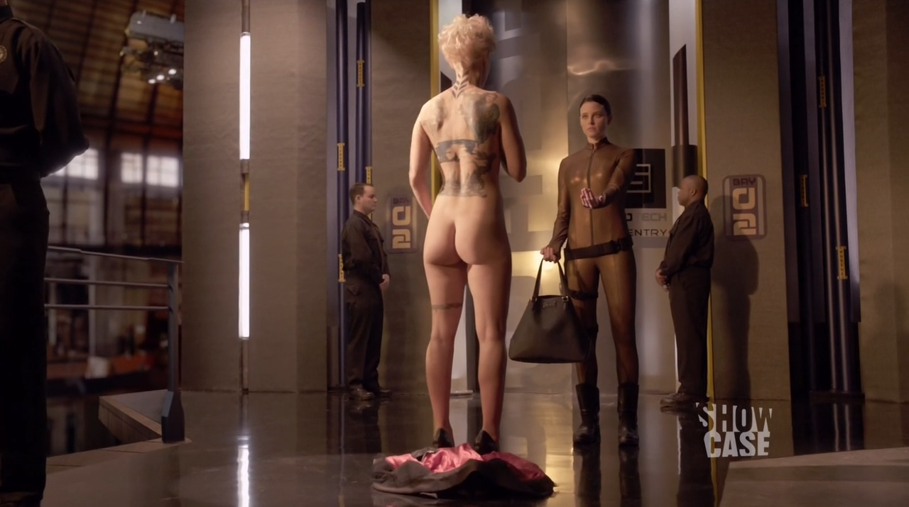 Luvia Petersen nude as Jasmine Garza - Continuum