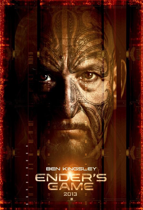 Ben Kingsley in Ender's Game poster