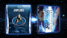 Star Trek TNG season 5 & Unification Blu-ray covers