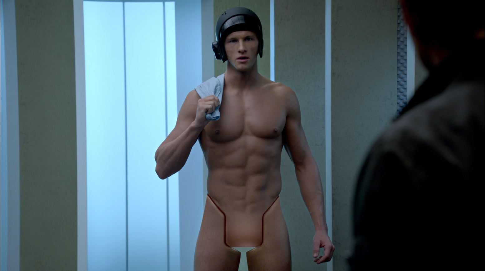 Almost Human - MRX Ken shows he has nothing in his pants