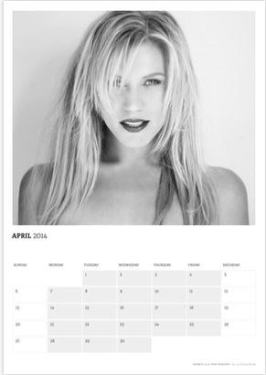 Katee Sackhoff in Acting outlaws 2014 Calendar