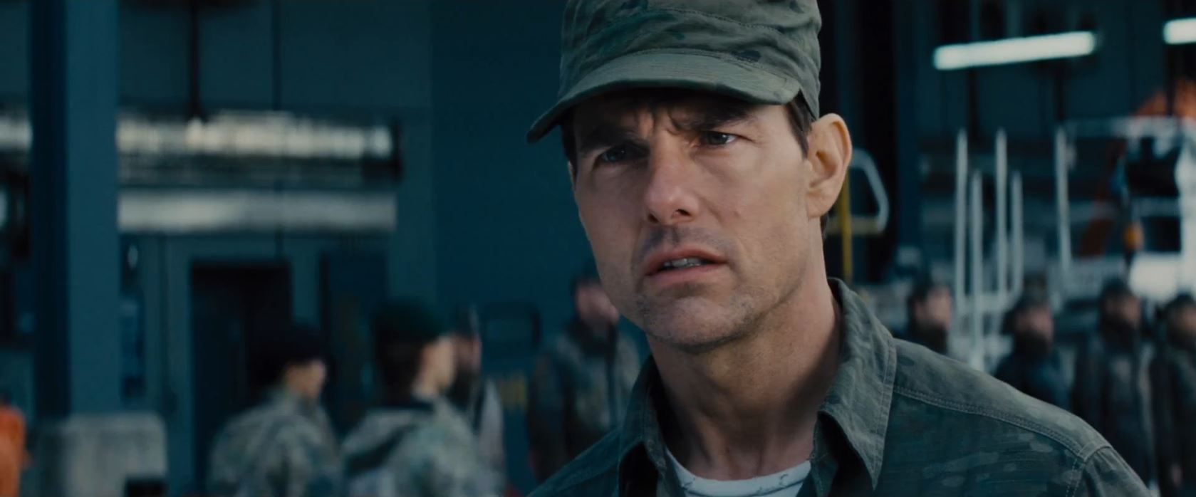 Tom Cruise as Lt. Col. Cage - Edge of Tomorrow