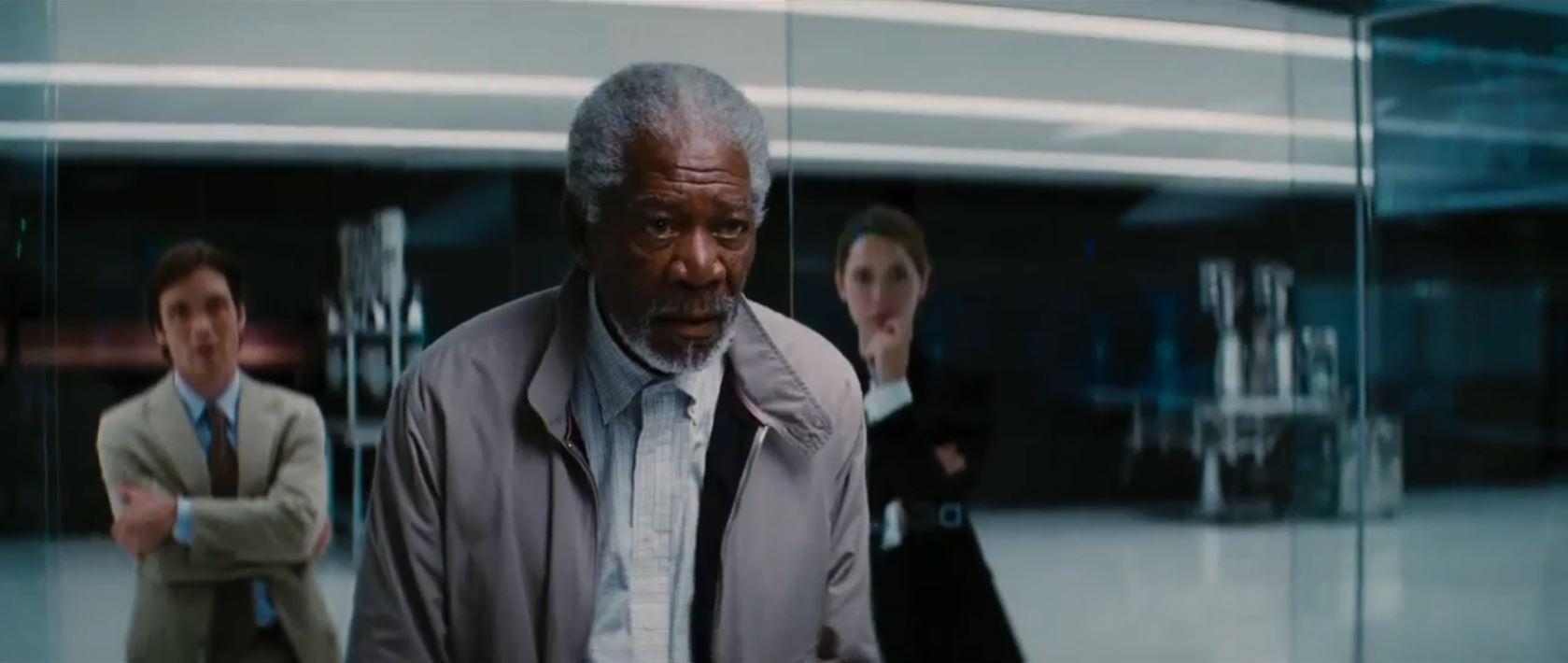 transcendence movie - Morgan Freeman as Joseph