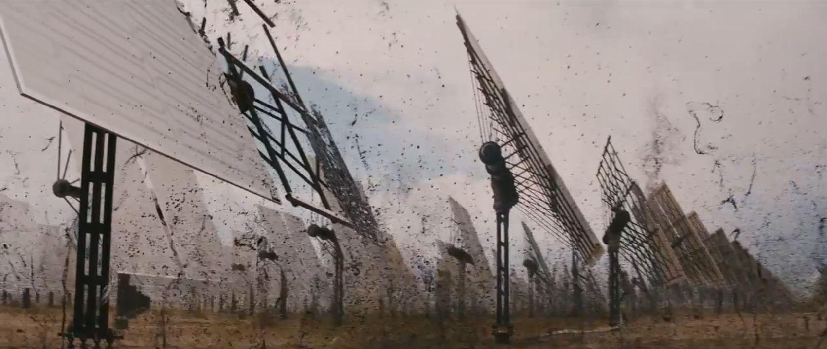 transcendence movie - The machine taking over matter