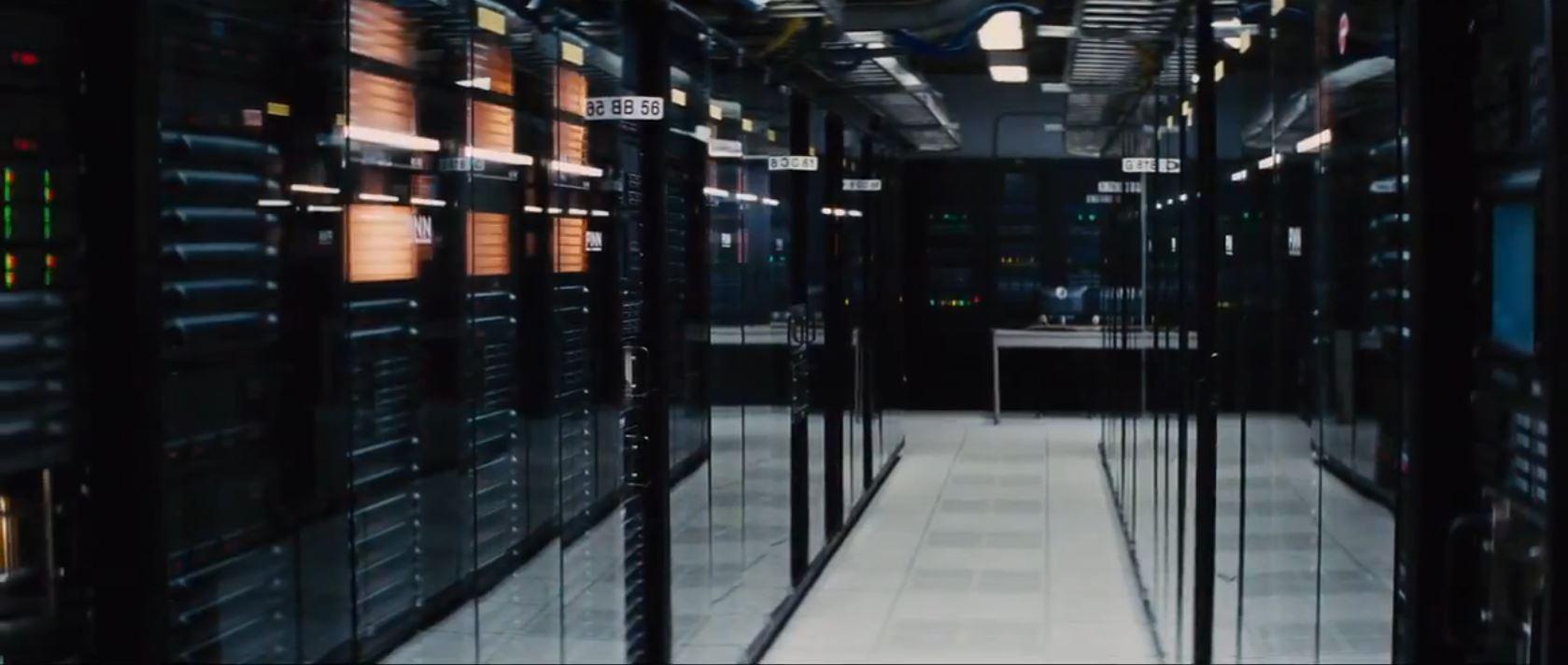 transcendence movie - the machine
