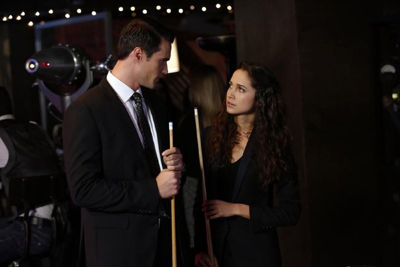 Agents of SHIELD - Seeds - agent Ward playing pool