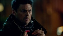 Almost Human - Simon Says - Karl Urban as Kennex with a collar bomb