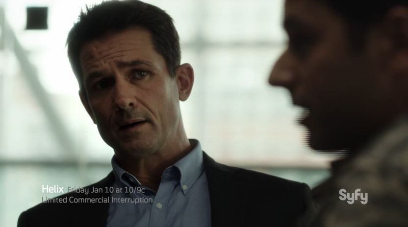 Billy Campbell as Dr. Alan Farragut - Helix