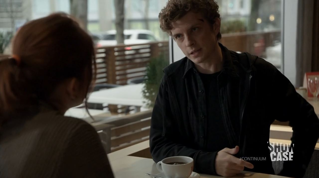 Continuum season 3 - minute to minute - Erik Knudsen as the alternate Alec Sadler