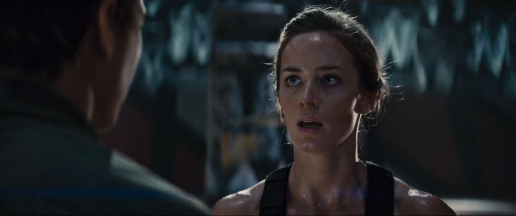 Emily Blunt as Rita Vrataski in Edge of Tomorrow