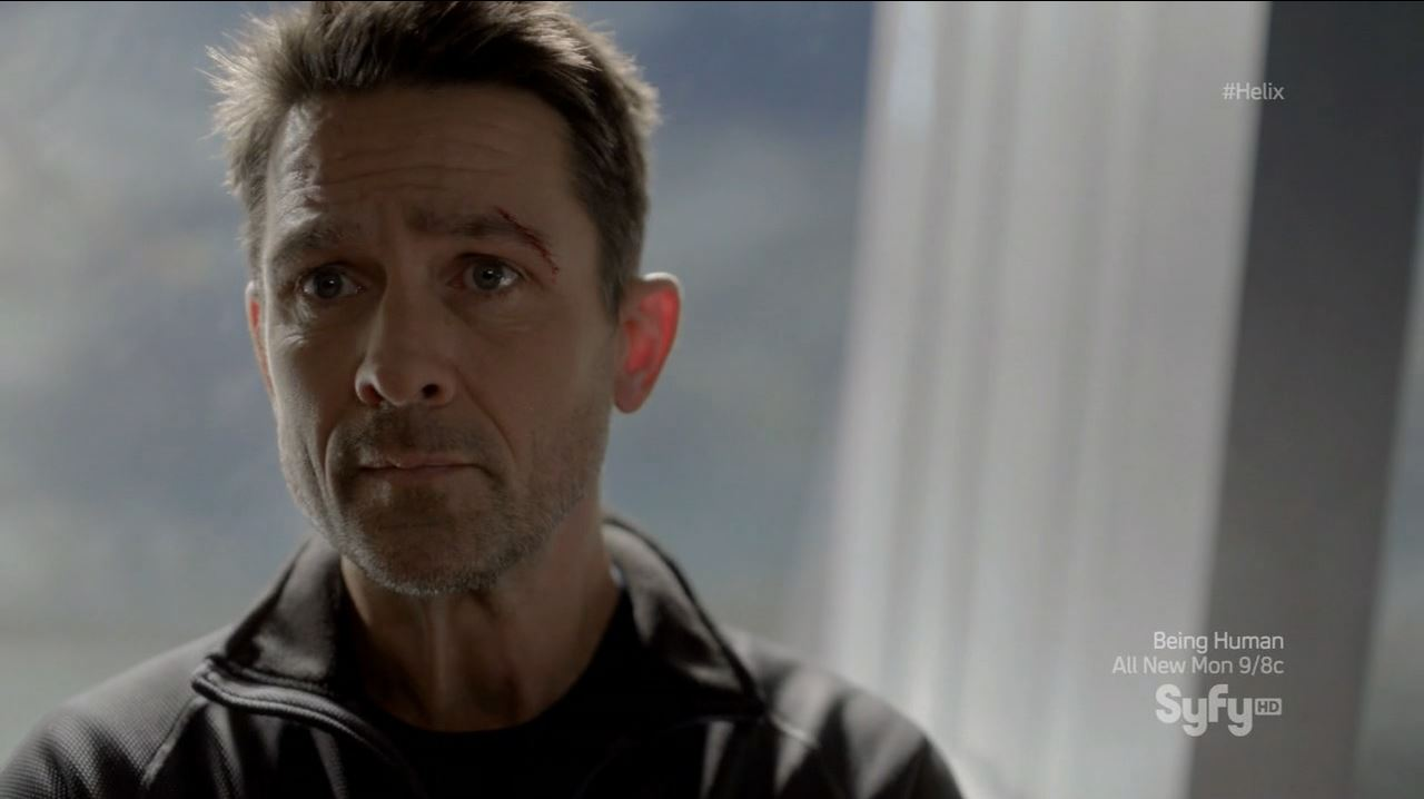 Helix - Black Rain - Billy Campbell as Dr. Alan Farragut