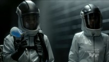 Helix - Black Rain - Hatake and Julia going after the infected