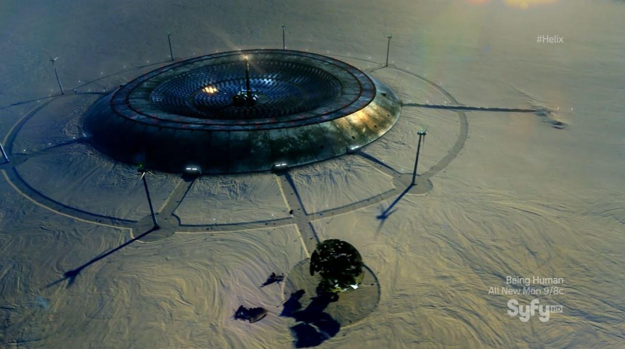 Helix season 1 finale - Arctic biostations