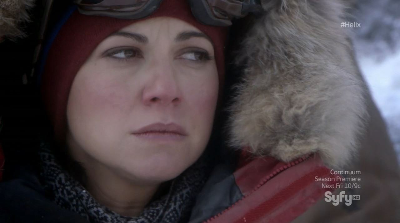 Helix season 1 finale - Luciana Carro as Anana