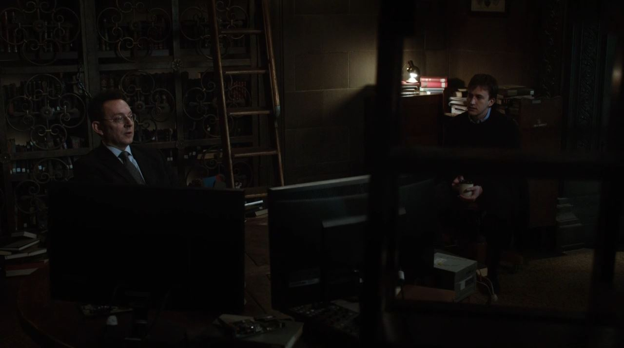 Person of Interest - RAM - Finch and Casey discuss The Machine