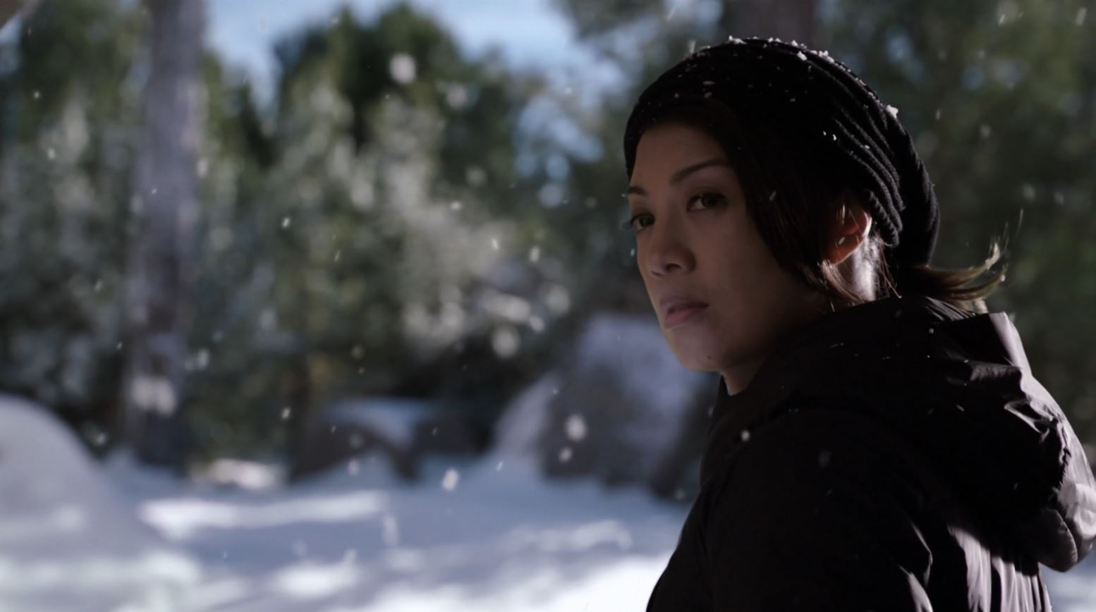 Agents of SHIELD - 'The Only Light in the Darkness' - Melinda May (Ming Na Wen) leaving SHIELD