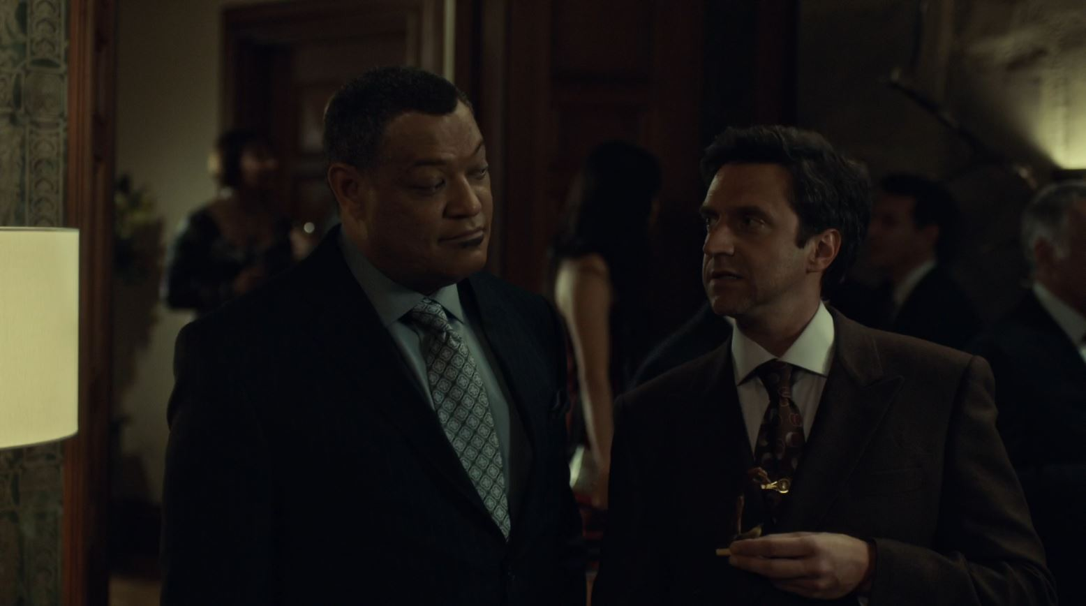 Hannibal S2Ep6 Futamono Review - Dr Chilton and Crawfor discussing the food