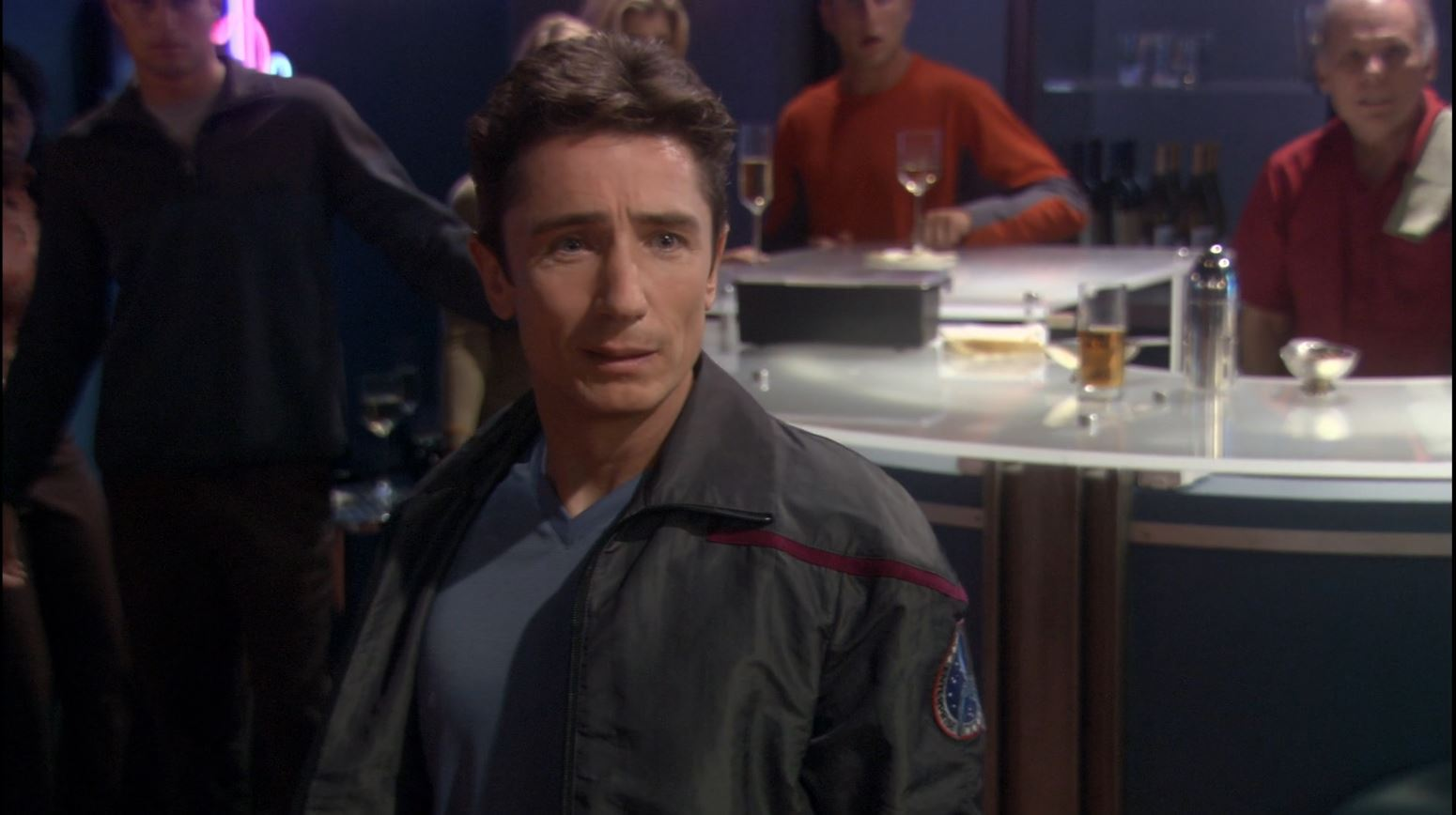 Enterprise season 4 Blu ray review - Malcolm Reed (Dominic Keating)