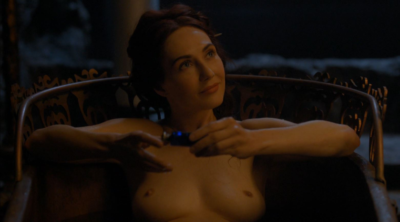 Game Of Thrones S4Ep7 Mockingbird Review - Carice van Houten Topless as Melisandre