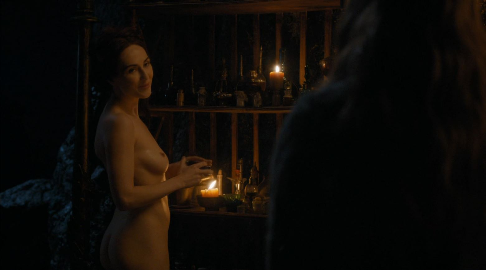 Game Of Thrones S4Ep7 Mockingbird Review - Carice van Houten nude as Melisandre