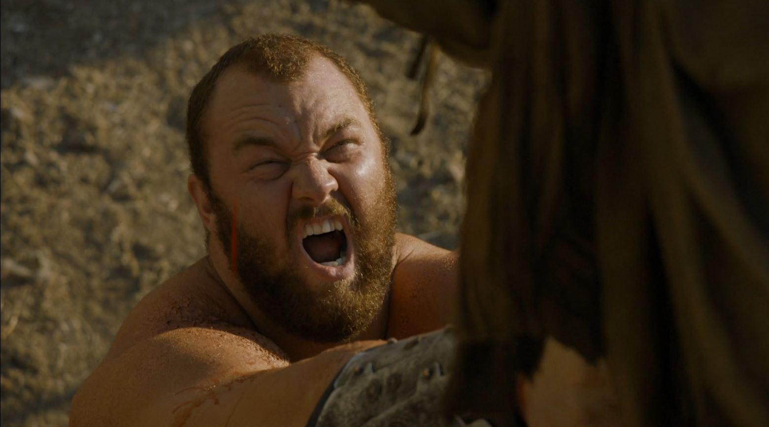 Game Of Thrones S4Ep7 Mockingbird Review - Hafþór Júlíus Björnsson as The Mountain (Clegane)