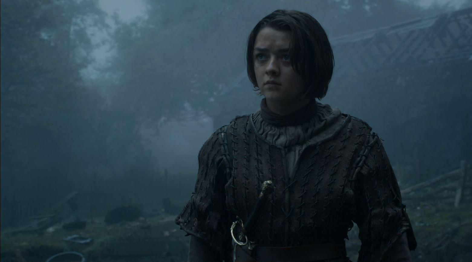 Game Of Thrones S4Ep7 Mockingbird Review - Maisie Williams as Arya Stark
