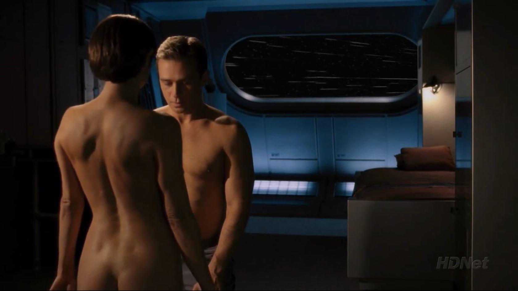 Jolene Blalock Nude Enterprise T'Pol nude 2