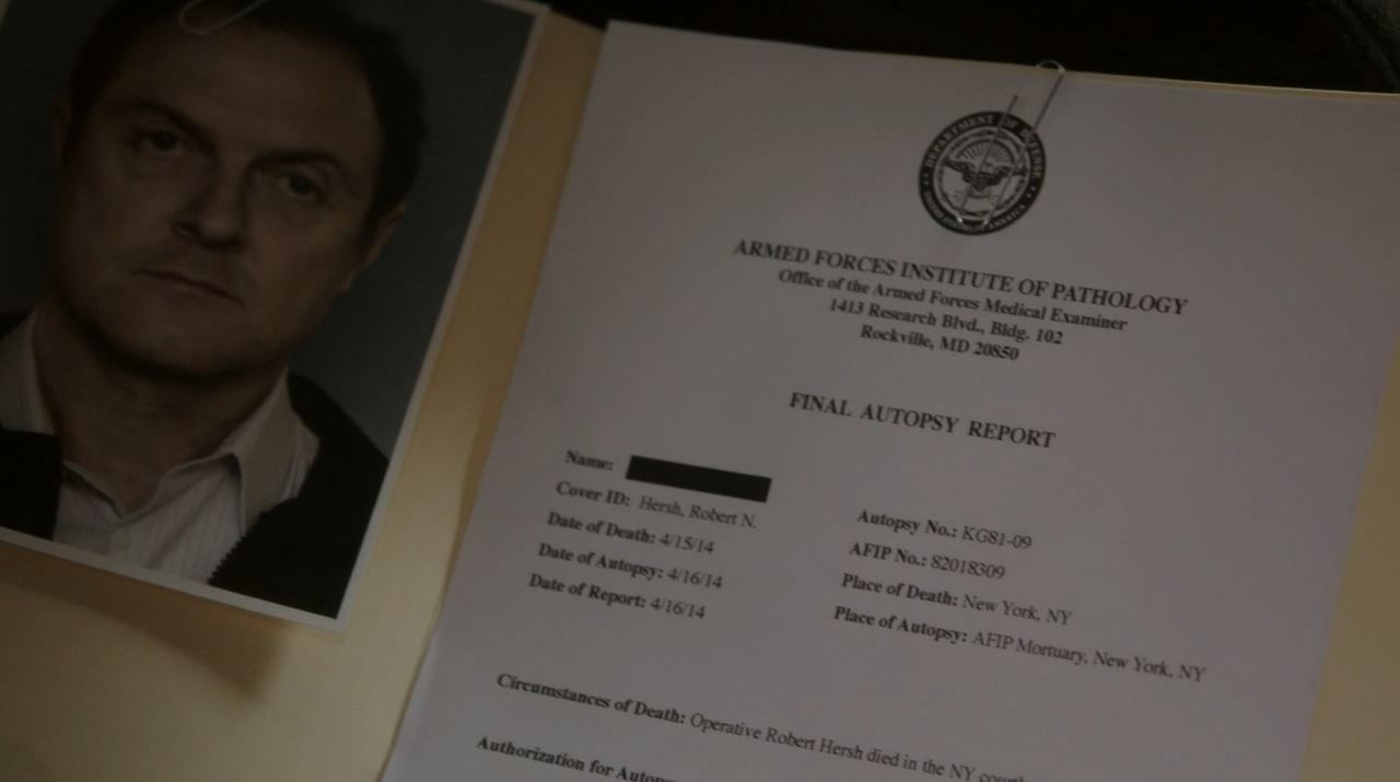 Person of Interest Deus Ex Machina - Hersh autopsy