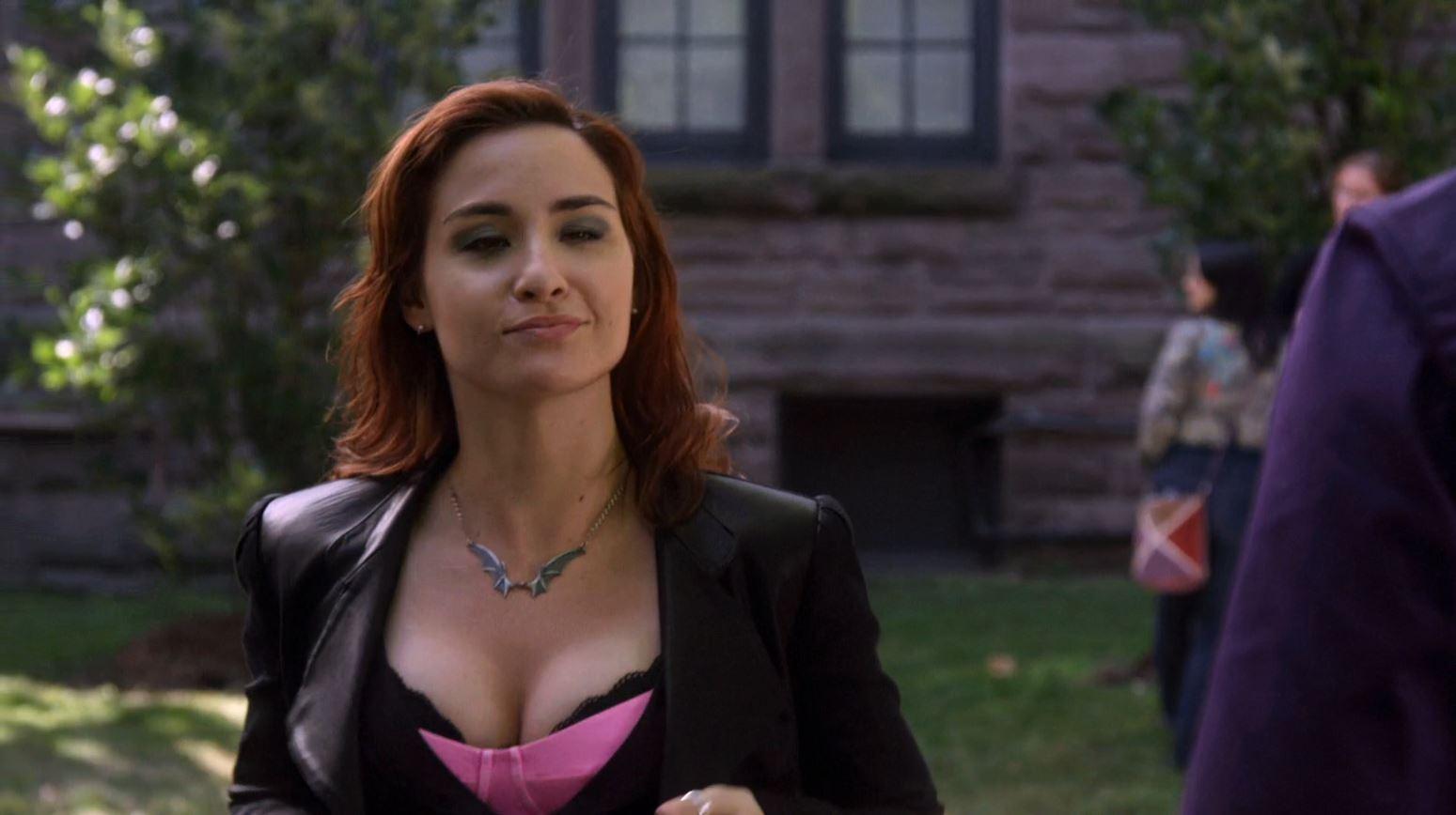 Warehouse 13 Savage Seduction - Allison Scagliotti breasts (Twin Peaks)