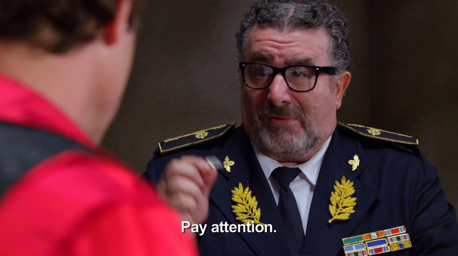 Warehouse 13 Savage Seduction - Artie as colonel Obregon