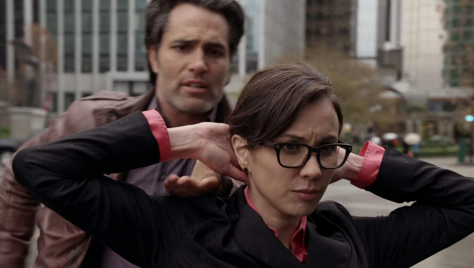 Continuum Season 3 Finale Last Minute Review - Sonya Valentine being arrested with bomb