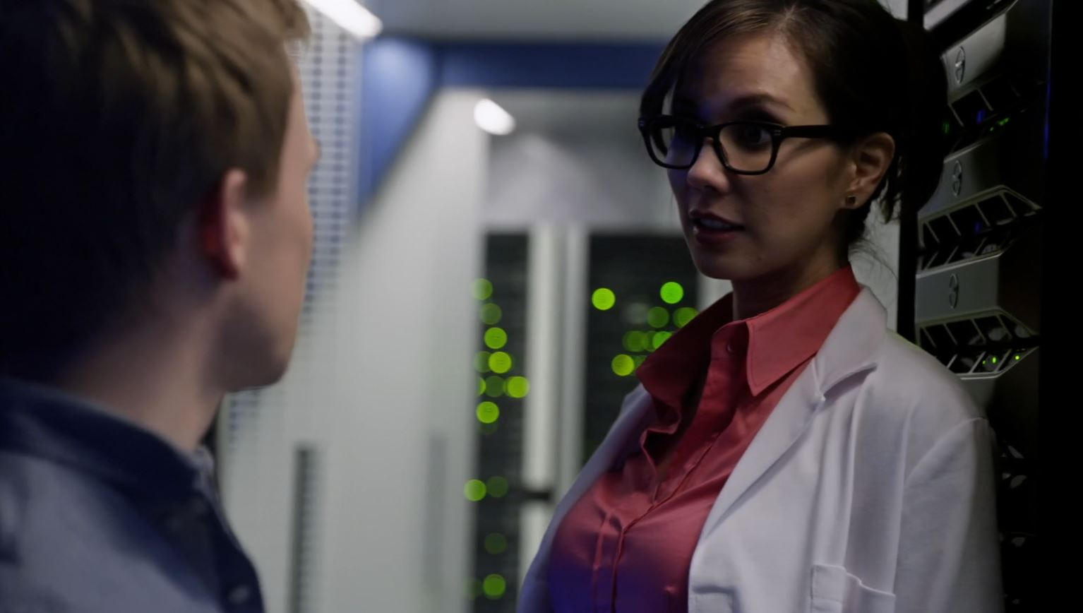 Continuum Season 3 Finale Last Minute Review - Sonya seducing Piron employee